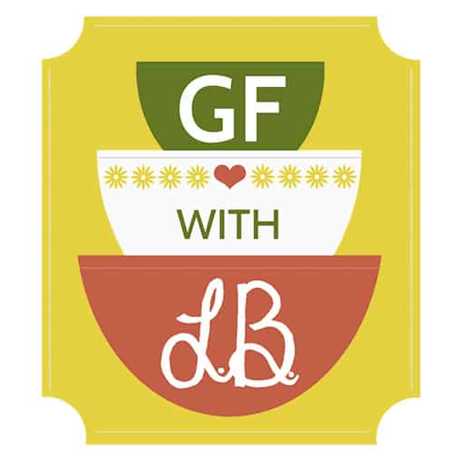 Gluten Free with L.B. logo