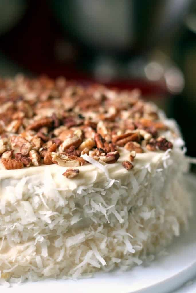 Grandma Ham's Italian Cream Cake