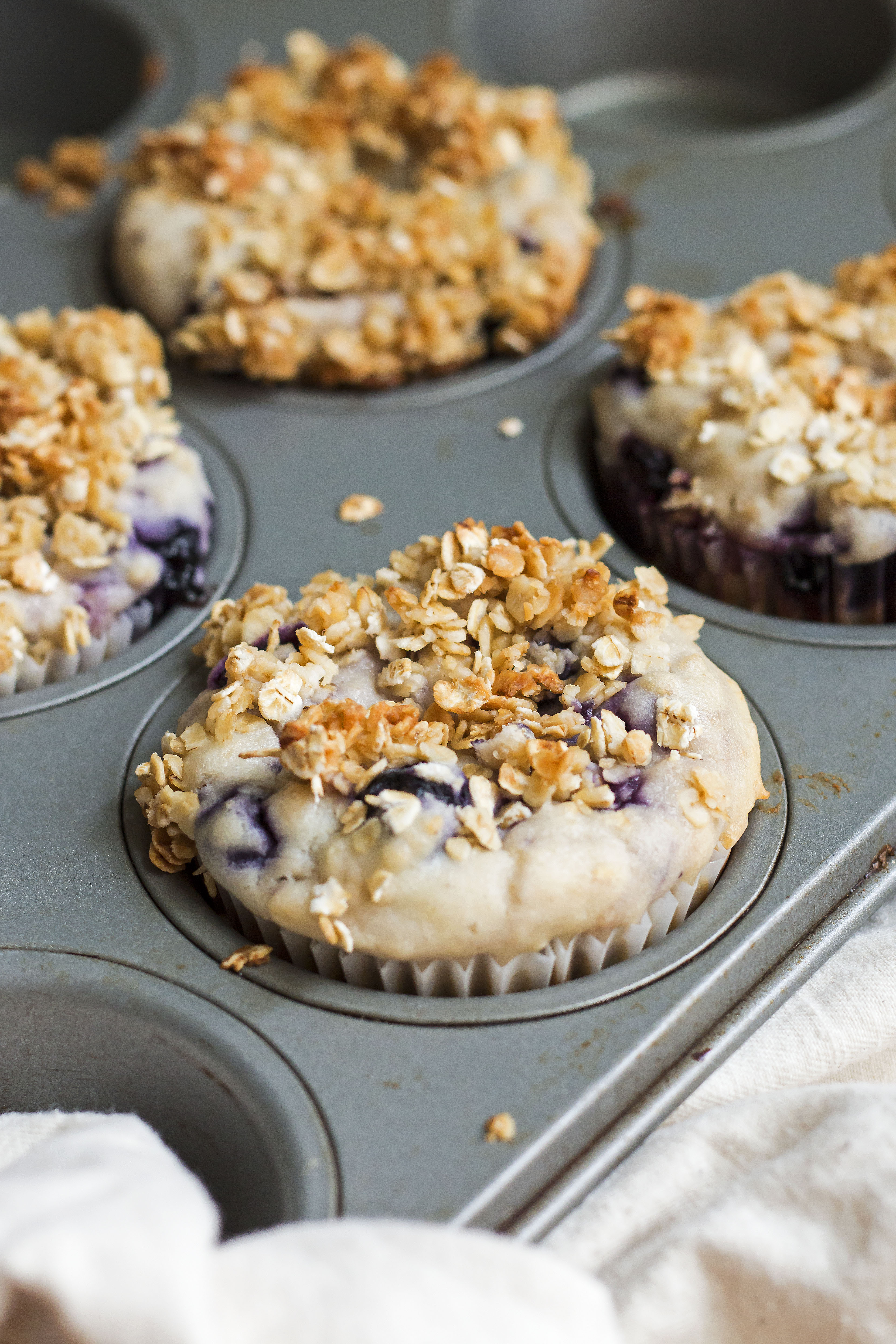 Blueberry Muffins–Without Refined Sugar