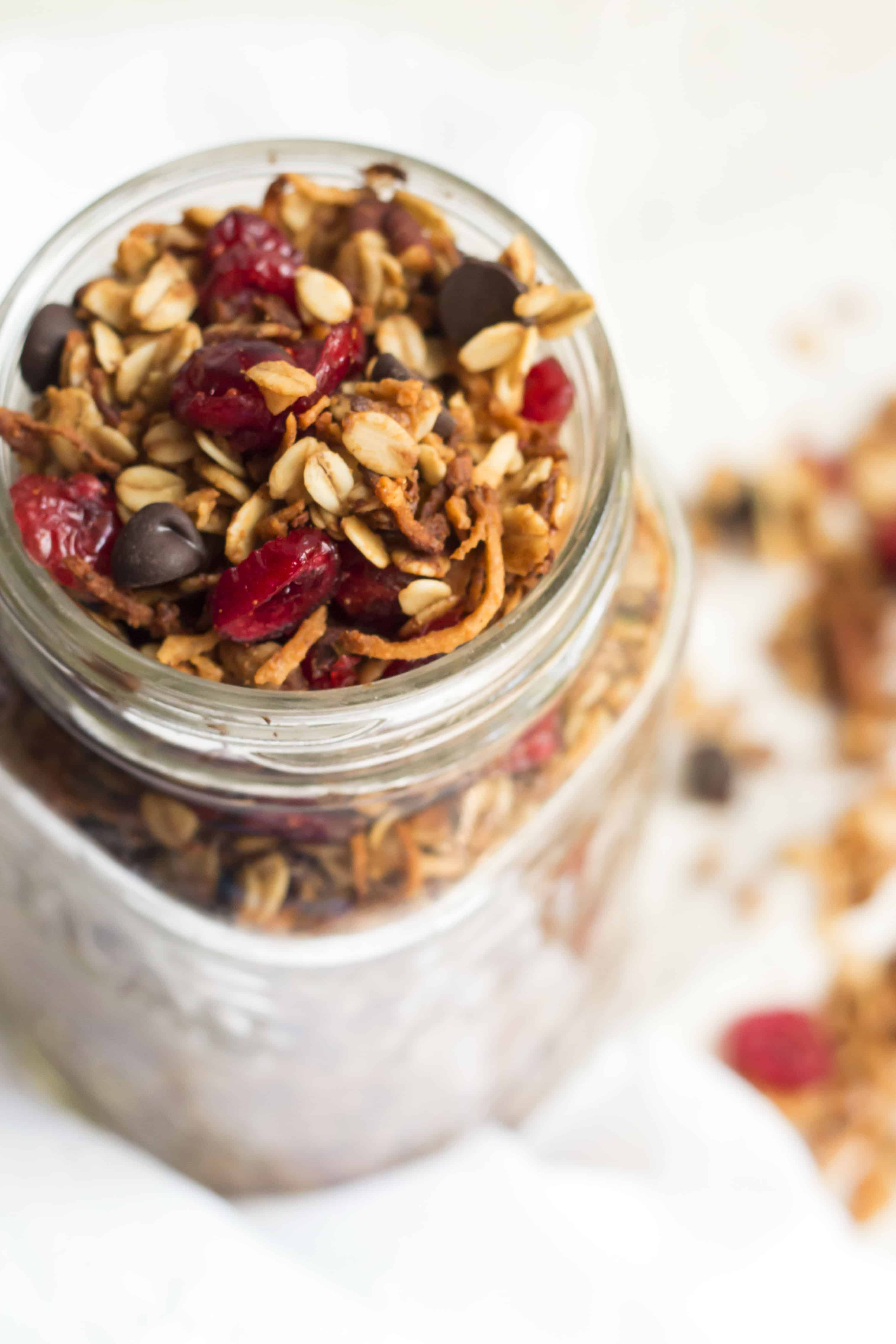 Yosemite Backpackers' Hailstorm Granola | Gluten Free with L.B.