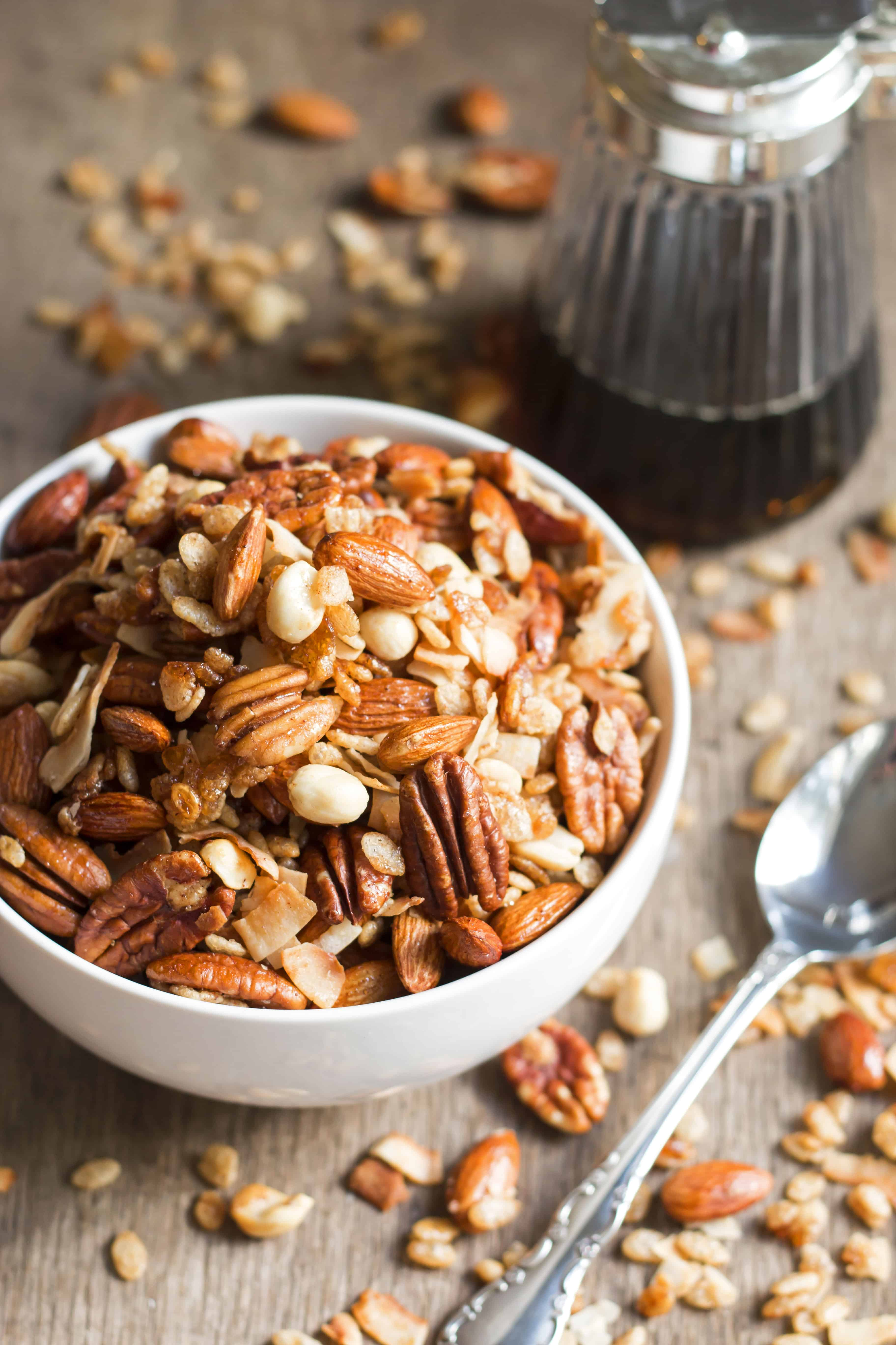 Kind Bar Maple Pecan Granola | Gluten Free with L.B.