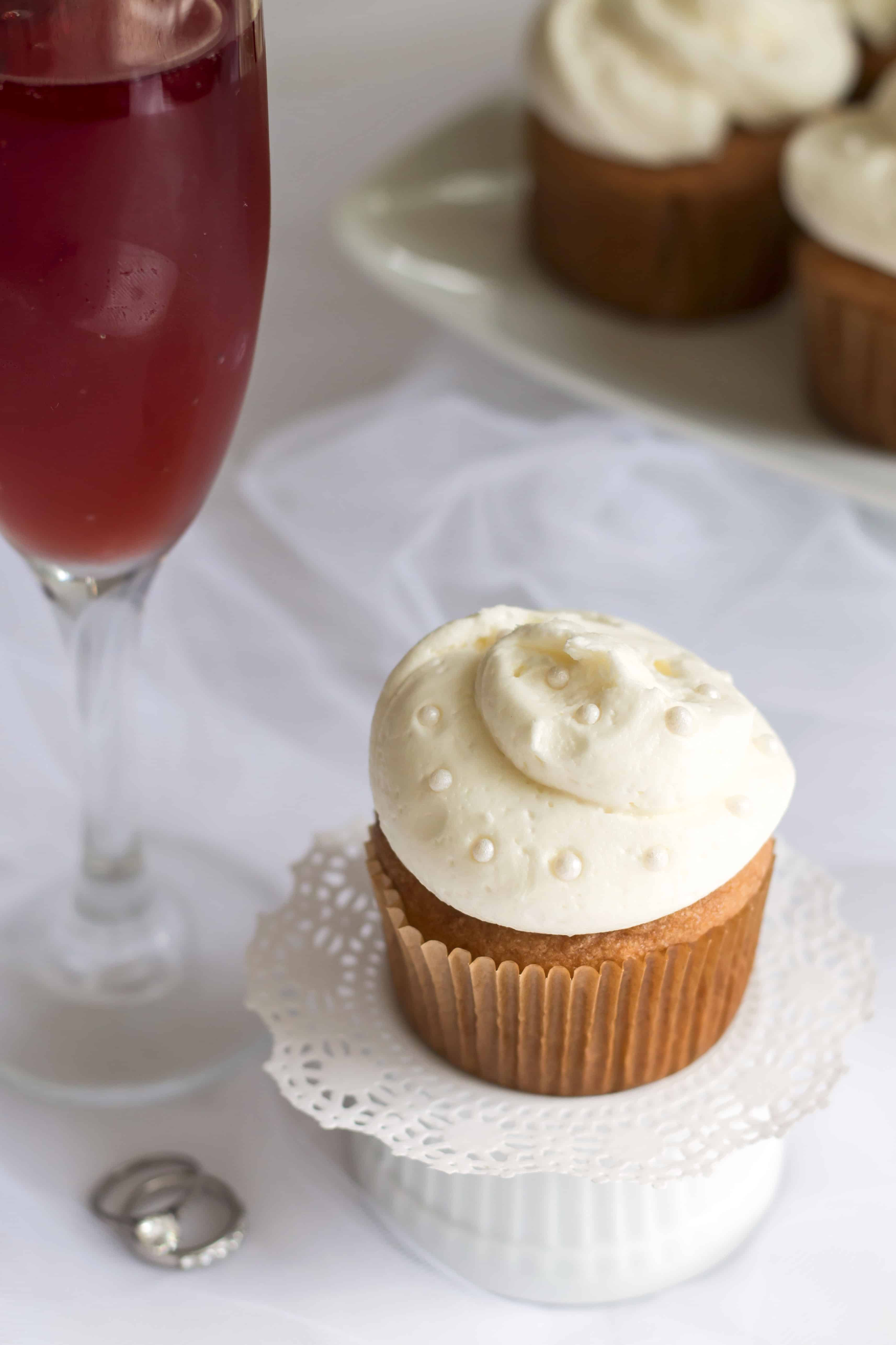 Rose Champagne Cupcakes Gluten Free With L B