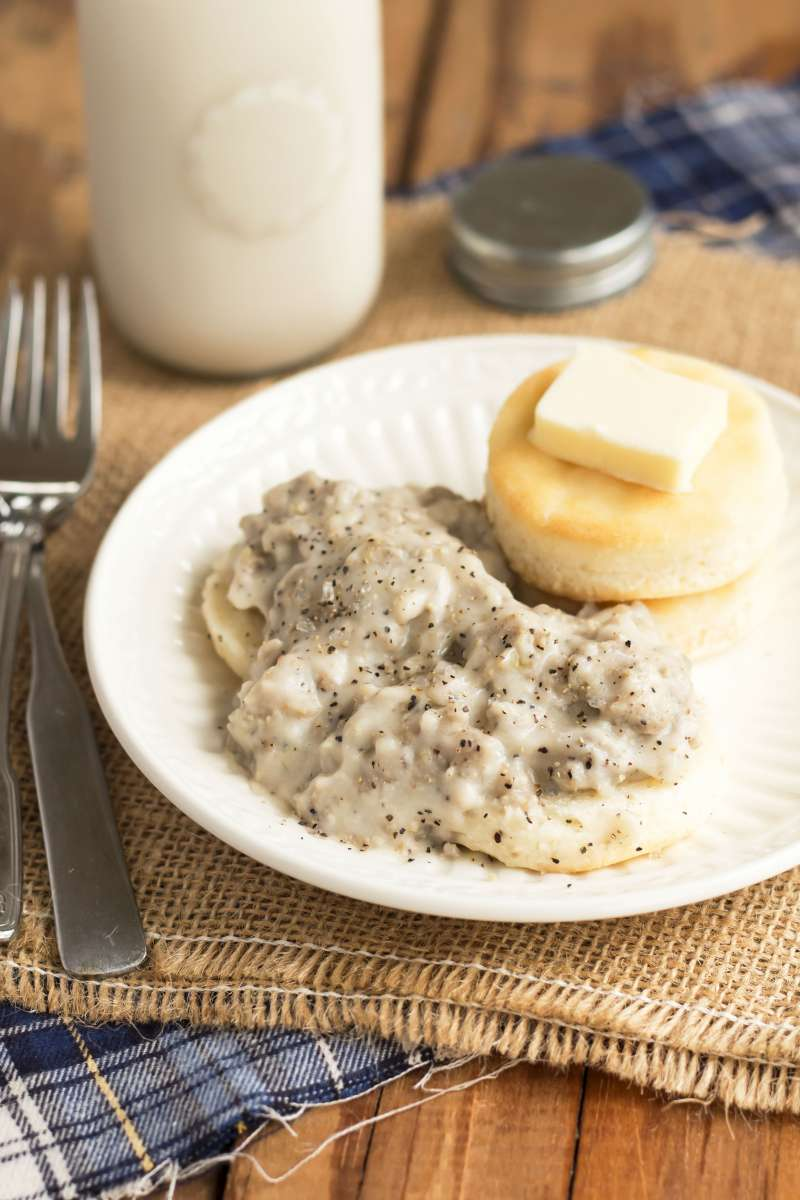Southern Sausage Gravy | Gluten Free with L.B.
