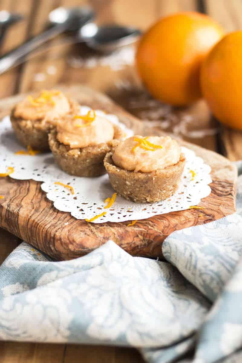 Orange Creamsicle Mini Tarts