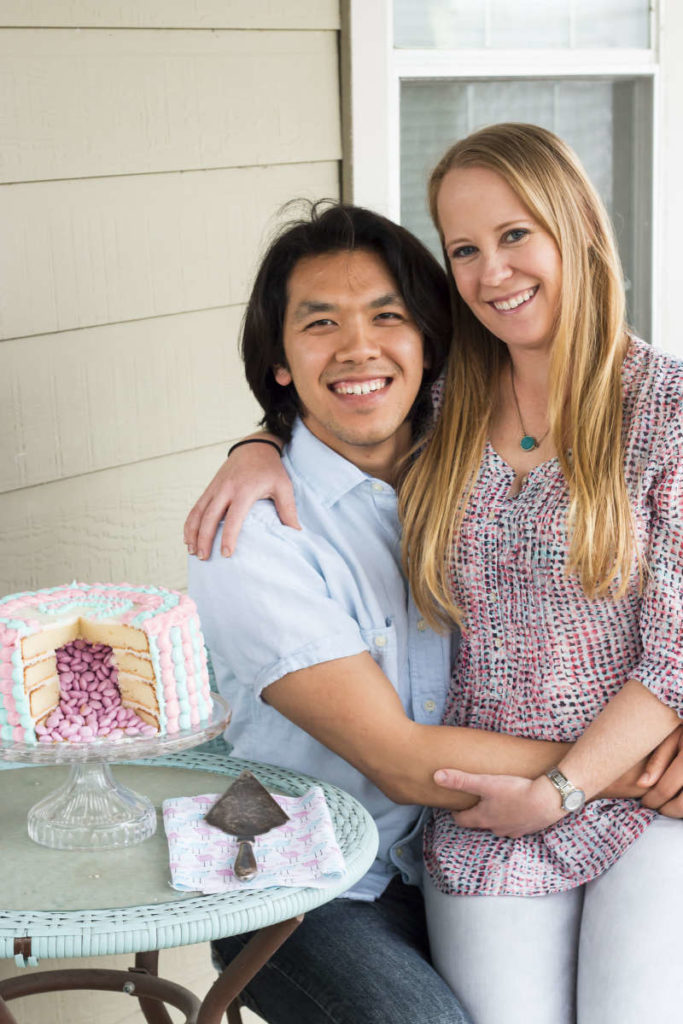 Gender Reveal Cake | Gluten Free with L.B.