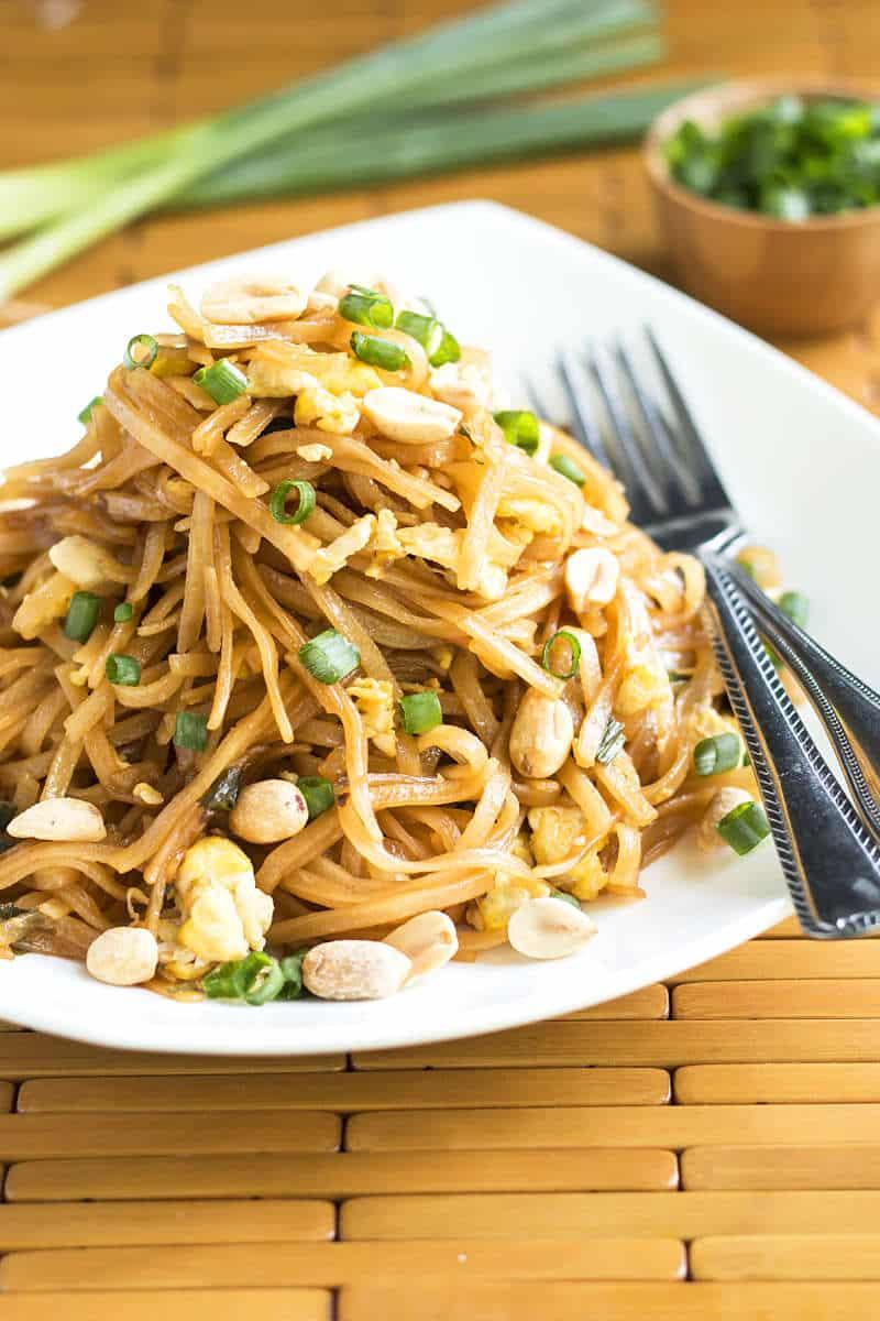 Quick Pad Thai | Gluten Free with L.B.