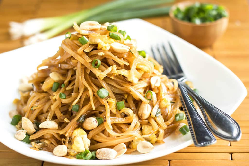 Quick Pad Thai | Gluten Free with L.B.