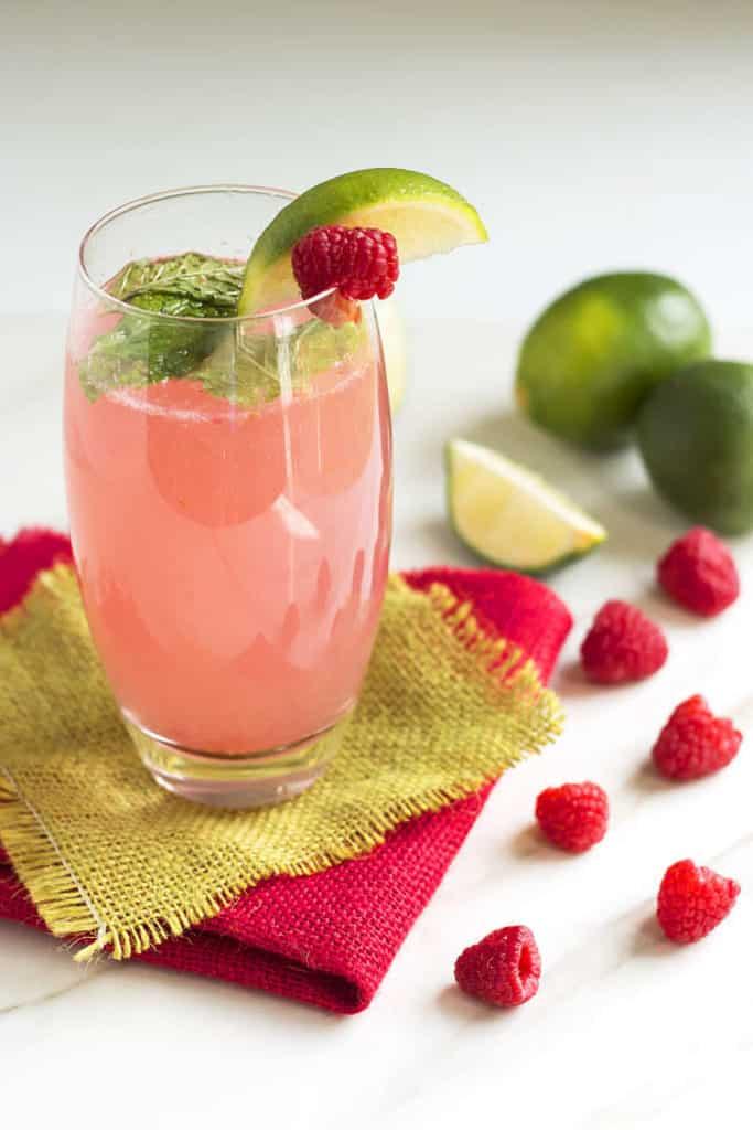 Raspberry Mojitos | Gluten Free with L.B.