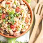 Southwest Pasta Salad | Gluten Free with L.B.