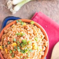 Easy Mexican Rice | Gluten Free with L.B.