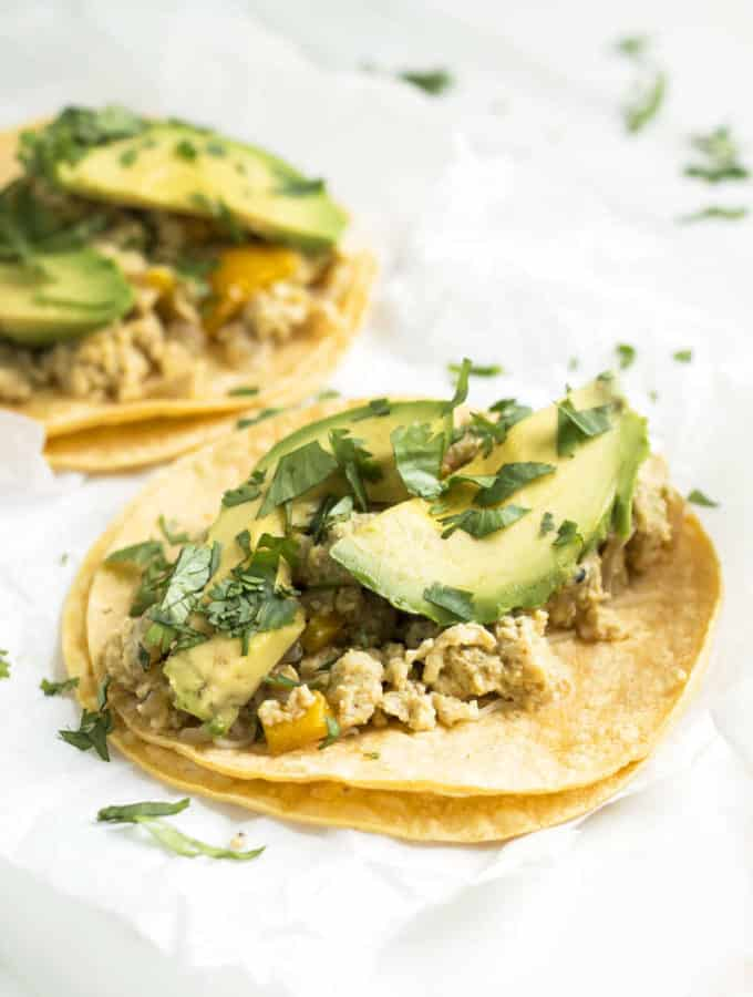 Cohl's Quick Breakfast Tacos