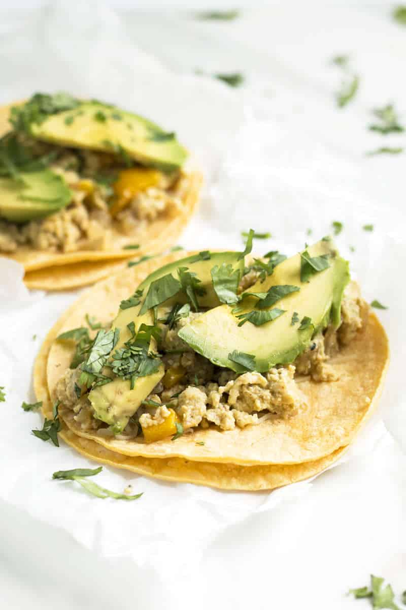 Cohl's Quick Breakfast Tacos | Gluten Free with L.B.