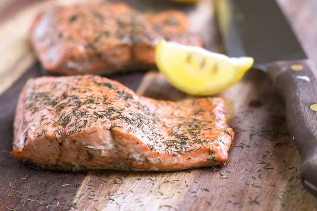 Lemon & Dill Salmon | Gluten Free with L.B.