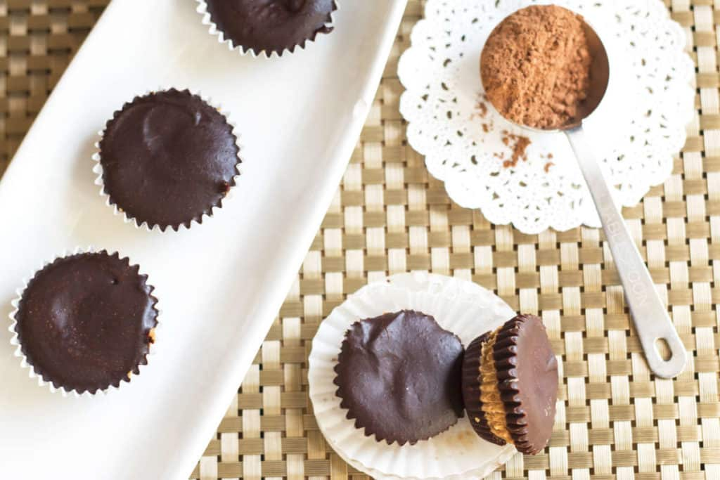 """Guilt-free """"Reese's"""" Cups 