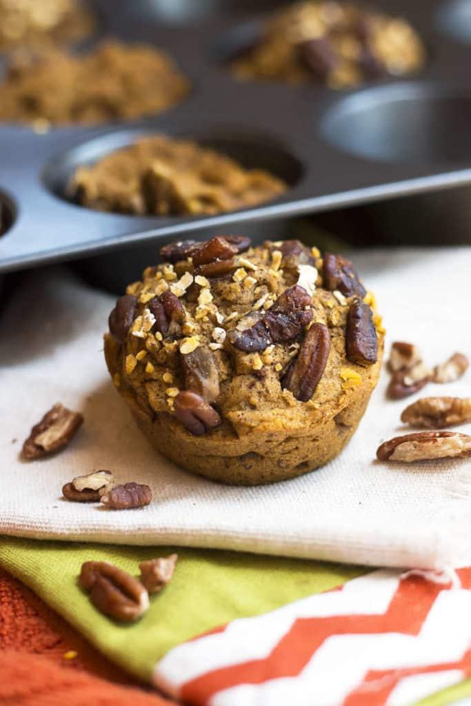 Pumpkin Maple Muffins | Gluten Free with L.B.