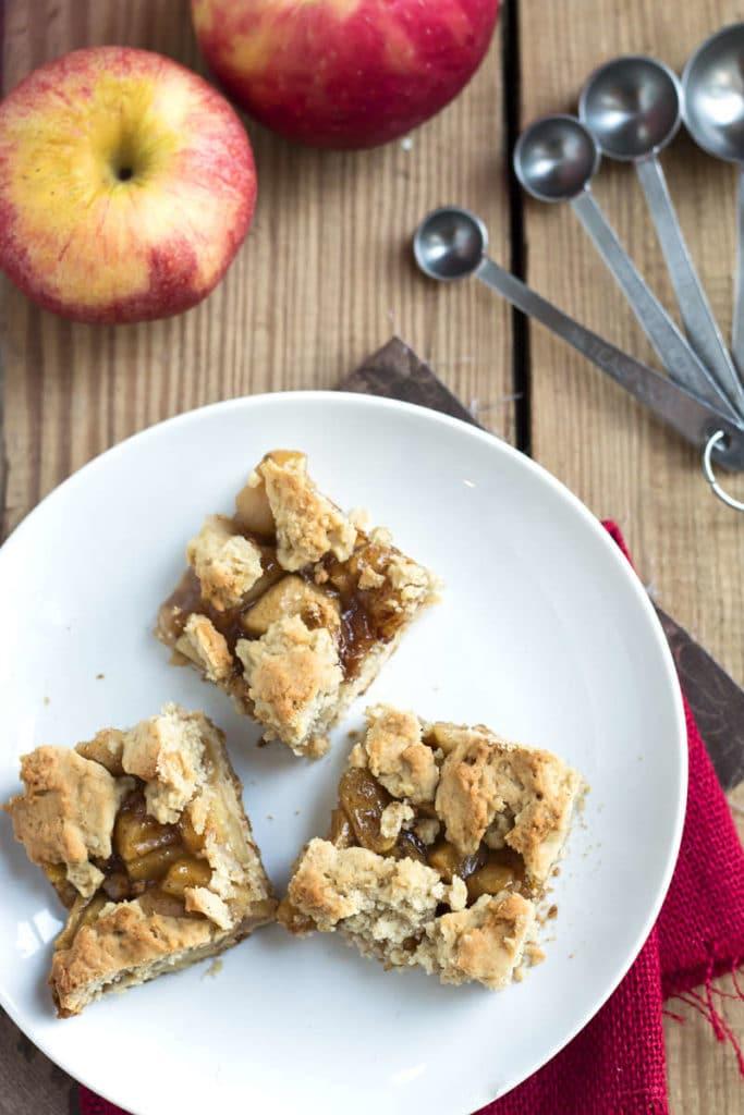 Apple Pie Crumb Bars | Gluten Free with L.B.