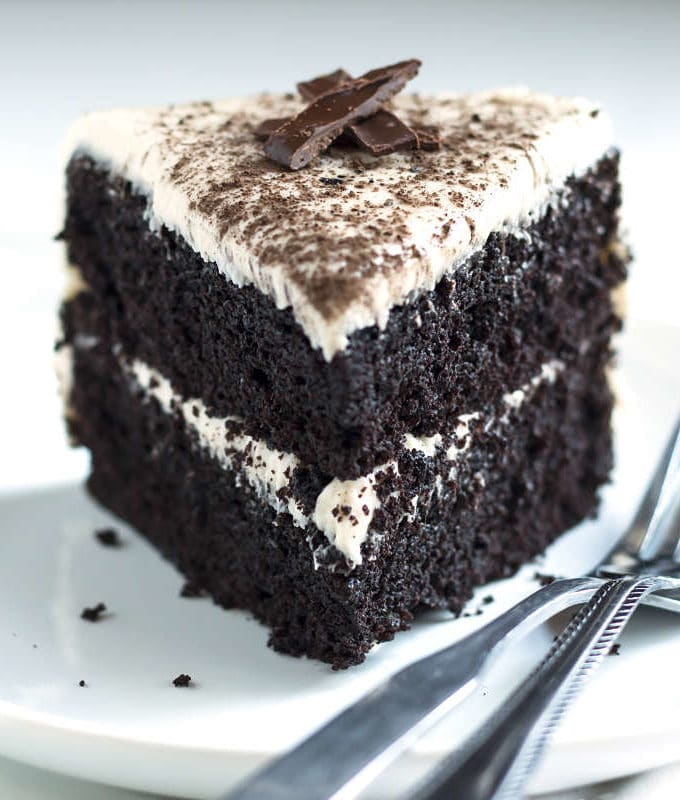 The Ultimate Dark Chocolate Cake