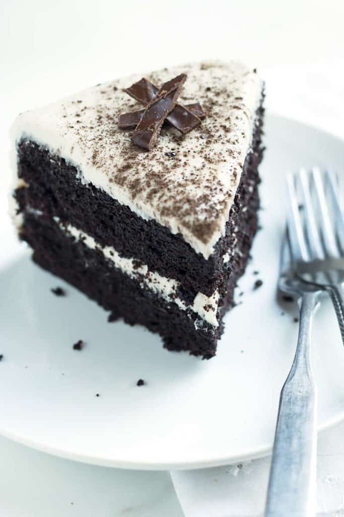 The Ultimate Dark Chocolate Cake | Gluten Free with L.B.