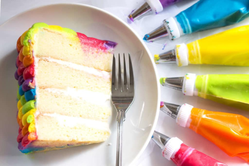 Rainbow Birthday Cake | Gluten Free with L.B.