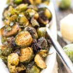 Browned Butter Brussel Sprouts | A quick and easy, gluten free brussel sprout recipe.