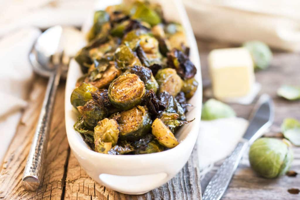 Browned Butter Brussel Sprouts | Gluten Free with L.B.