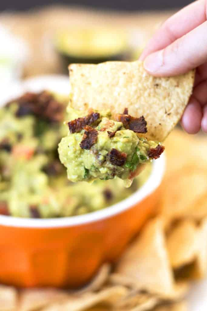 Super Bowl of Guacamole {Video} | Gluten Free with L.B.