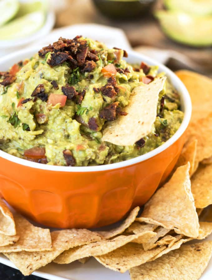 Super Bowl of Gluten Free Guacamole {Video}