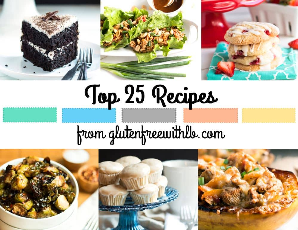 Top 25 Recipes   Gluten Free with L.B.