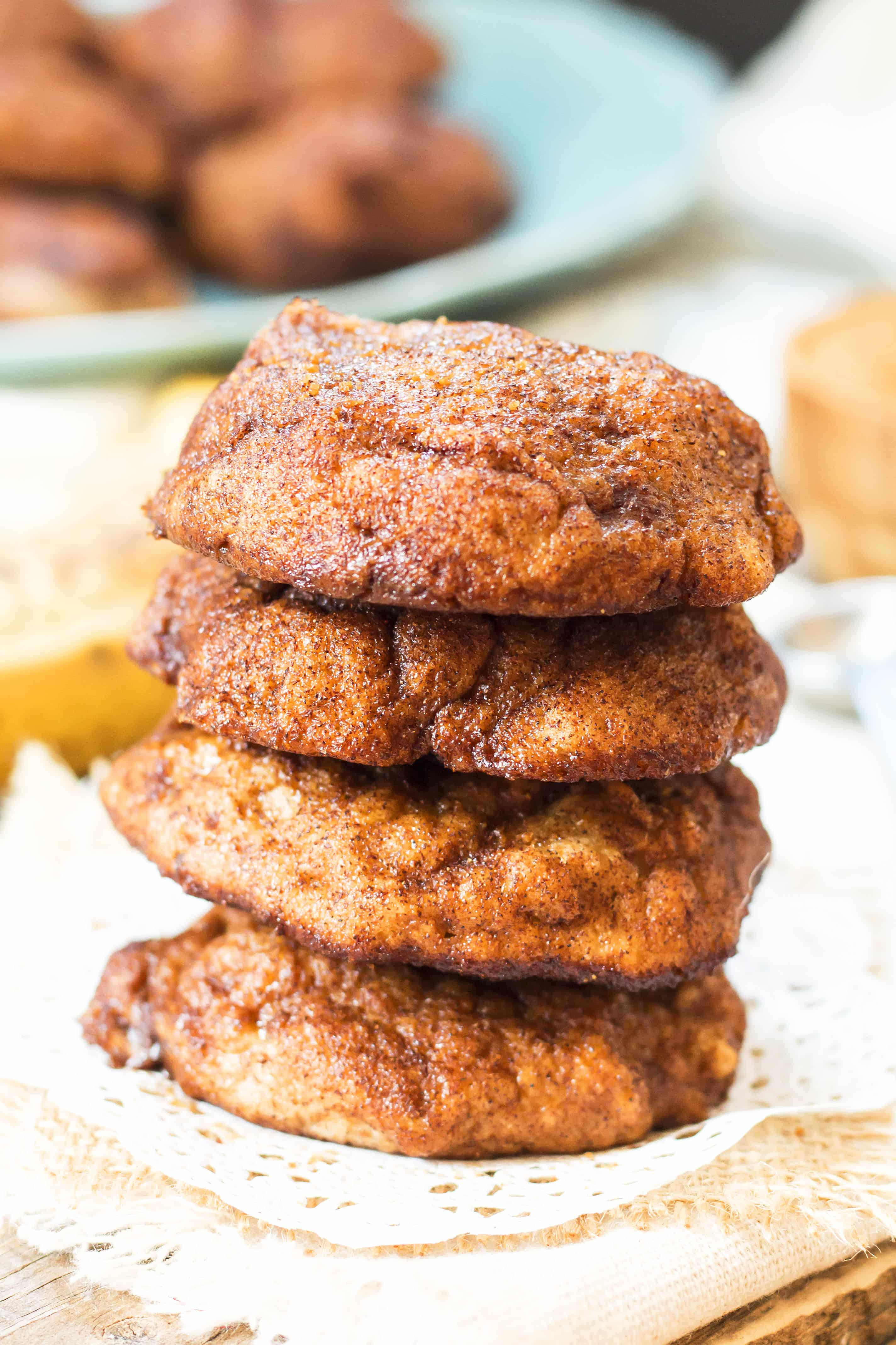 Banana Bread Snickerdoodles | Gluten Free with L.B.