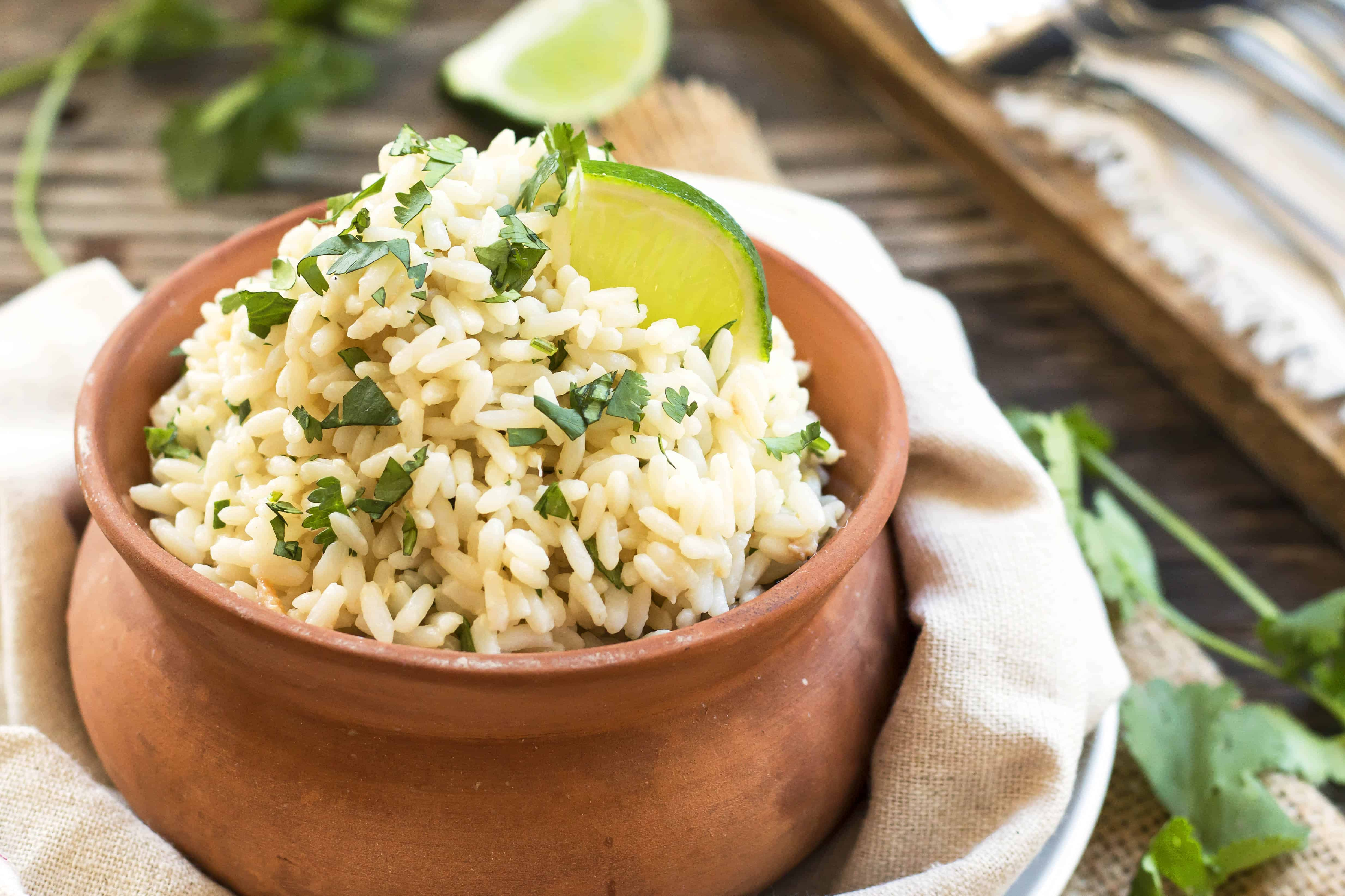 Coconut Cilantro Lime Brown Rice | Easy, Gluten-Free ...