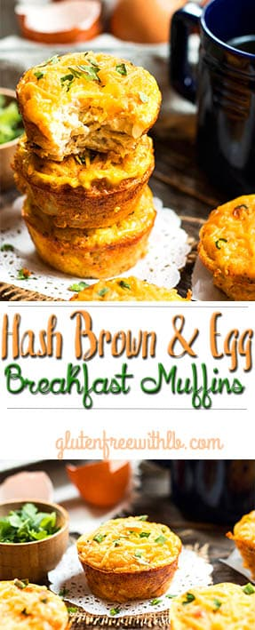 Hash Brown & Egg Breakfast Muffins