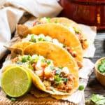 Slow Cooker Pineapple Pork Tacos