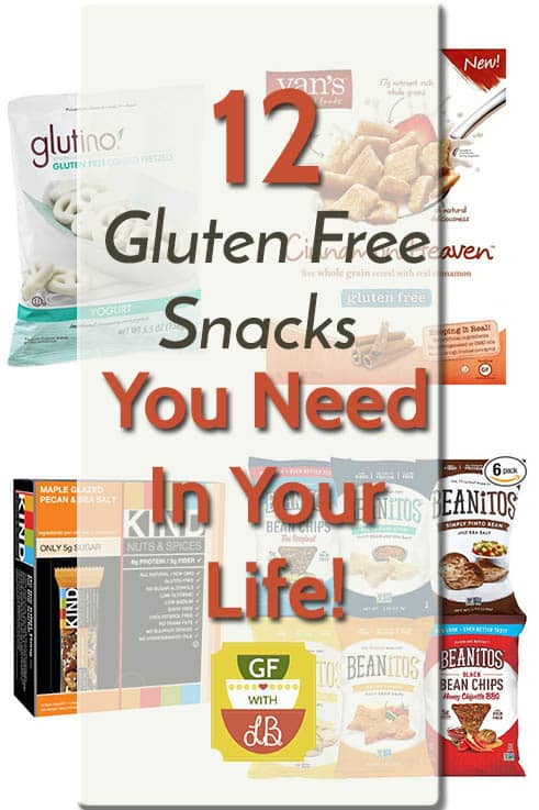 12 Gluten Free Snacks You Need in Your Life!