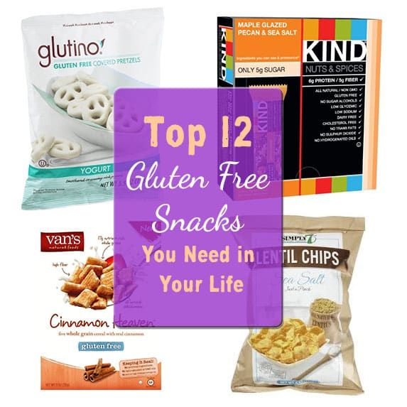 Top 12 Gluten Free Snacks You Need in Your Life