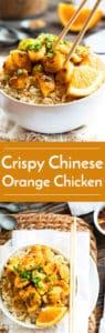 Crispy Gluten Free Chinese Orange Chicken | A restaurant makeover for Chinese Orange Chicken that also happens to be gluten free! This chicken recipe makes a wonderful weeknight dinner.