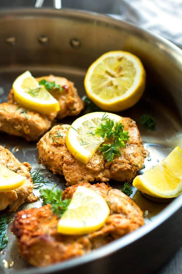 Lemon & Greek Yogurt Chicken