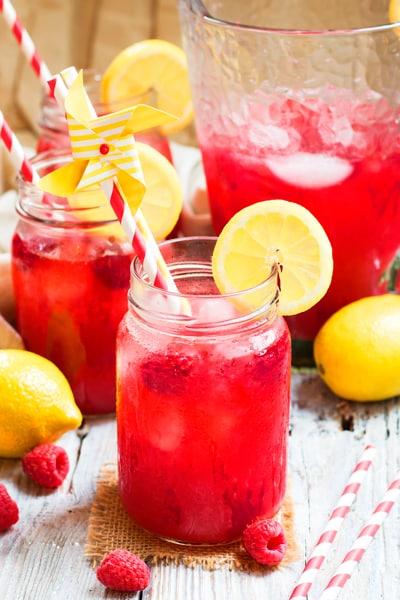 Raspberry Lemonade with Zing Stevia Sweetener