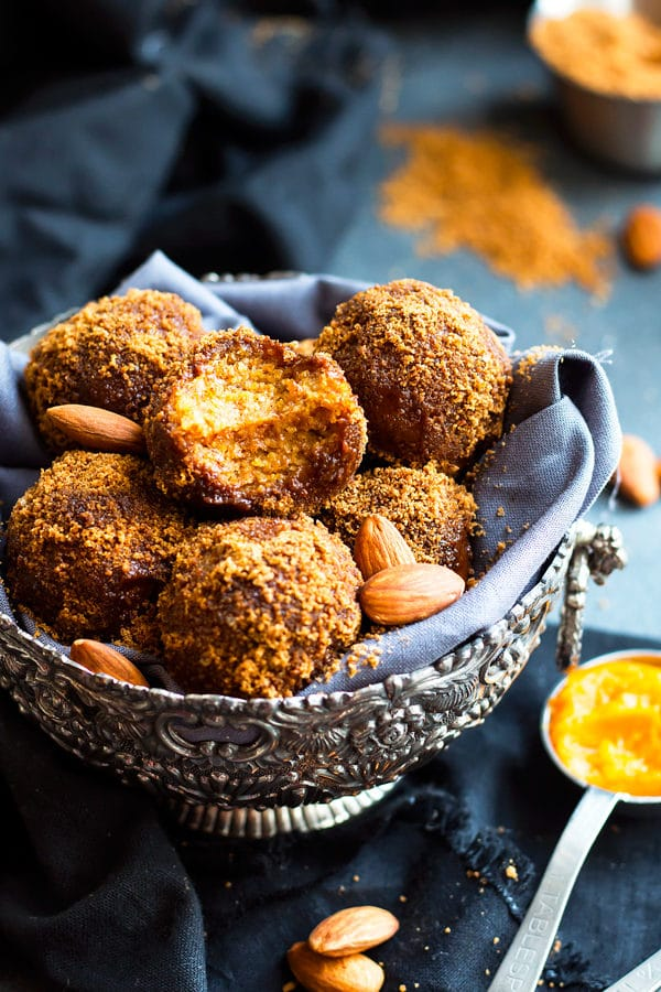 No Bake Pumpkin Pie Balls | Gluten Free, Vegan