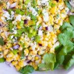 Easy Mexican Street Corn Salad Recipe   Authentic & Classic Corn Side Dish