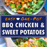 Honey BBQ Chicken with Sweet Potatoes & Broccoli | Easy 30-Minute One-Pot Meal