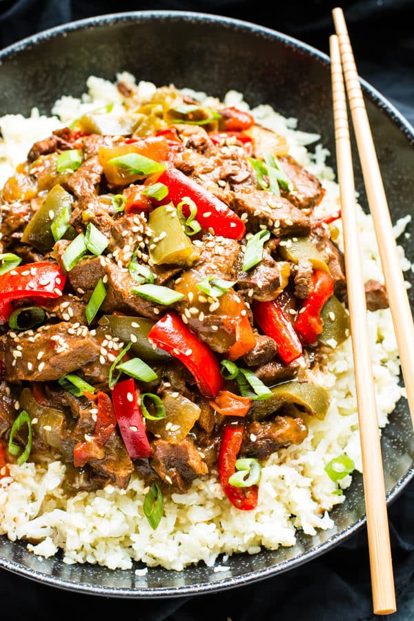 Slow Cooker Beef Teriyaki | Whole 30 & Paleo