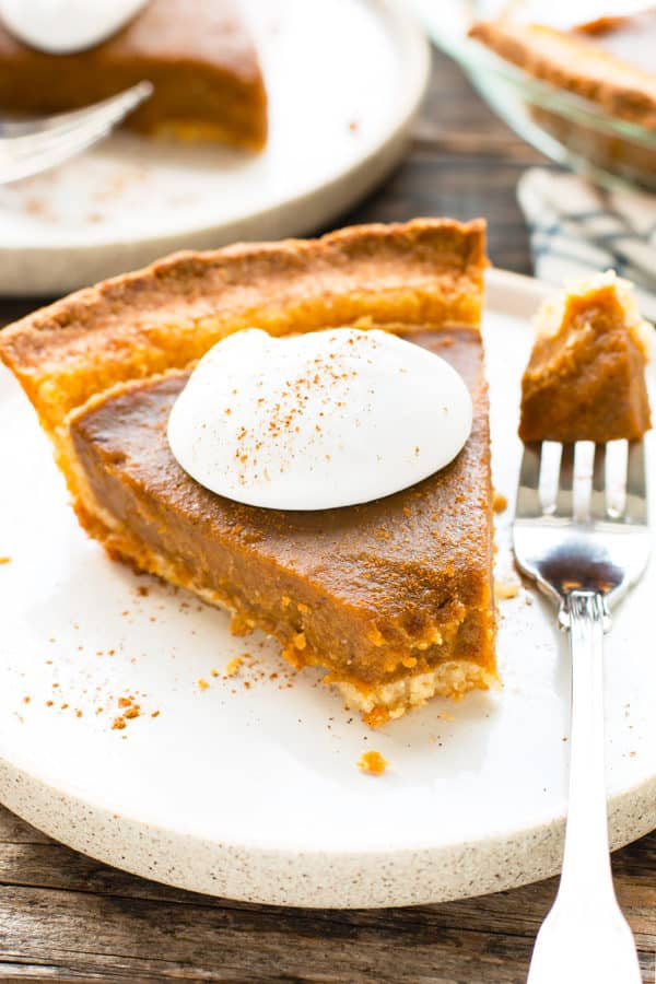 The Best Grain-Free Vegan Pumpkin Pie