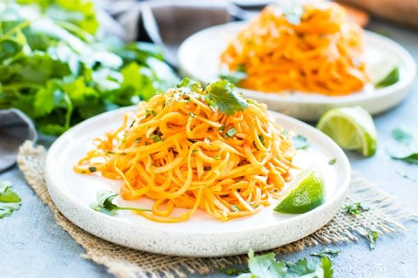 Cilantro Lime Sweet Potato Noodles