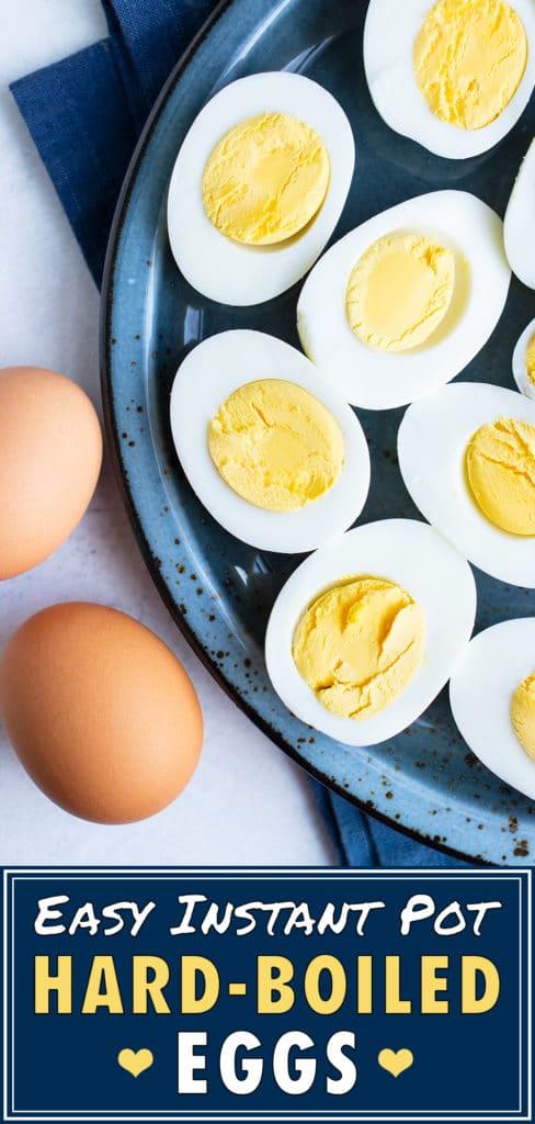 Instant Pot Hard-Boiled Eggs Recipe | Pressure Cooker | Perfect, Easy-Peel Eggs