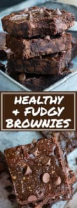 Homemade Paleo Brownies with Chocolate Chips | These healthy and easy brownies are made from scratch and are the best gluten-free, dairy-free fudgey brownie recipe!