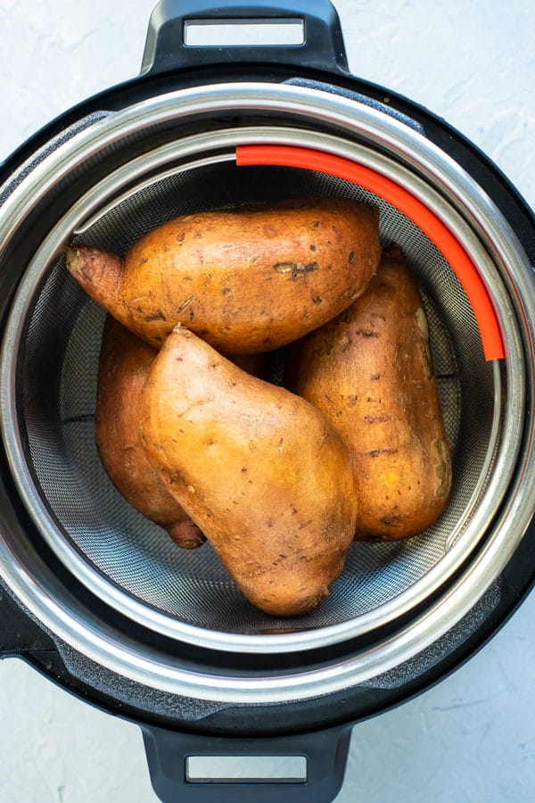 Instant Pot Sweet Potato