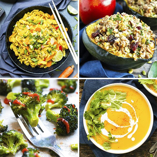 Healthy Weekly Dinner Meal Plan #3