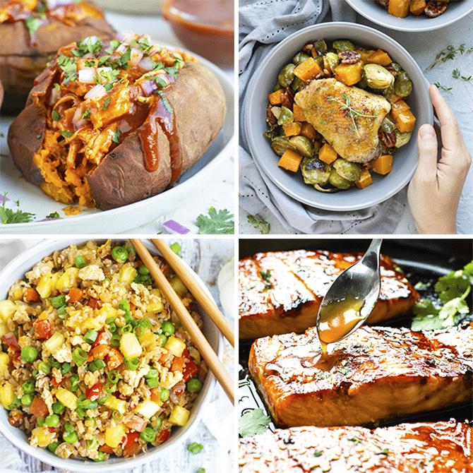 Healthy Dinner Meal Plan #4