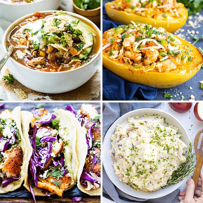 Healthy Dinner Meal Plan & Meal Prep #5