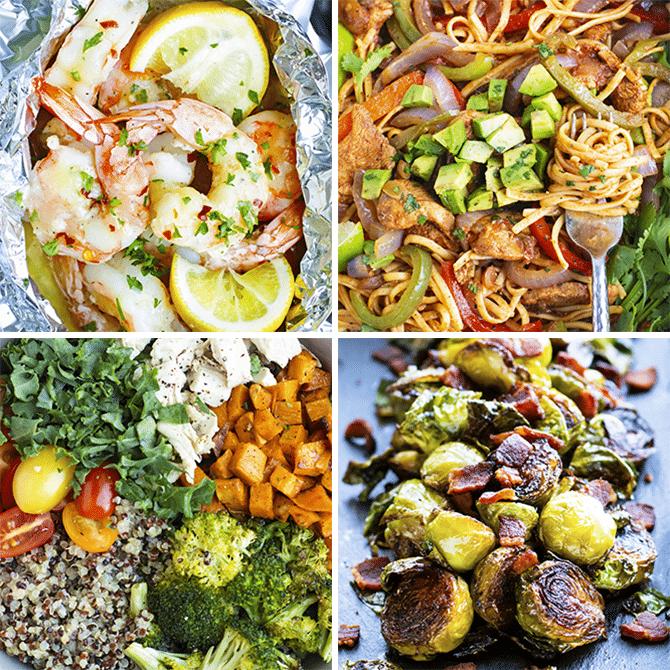 Healthy Dinner Meal Plan & Meal Prep #6